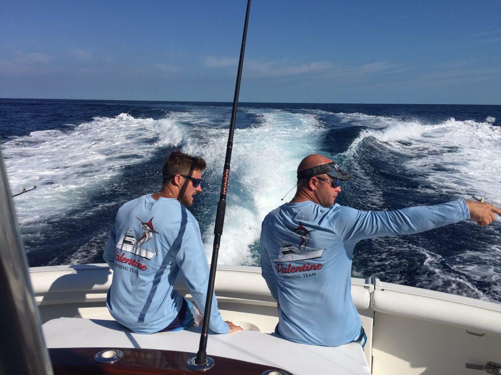 South Florida Sailfish Tournament Action