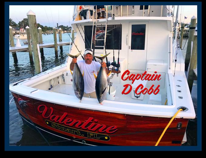 Our Captain Darrin Cobb - Valentine Sportfishing Charters Stuart Florida