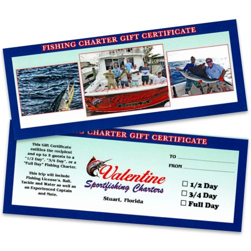 Fishing Trip Gift Card