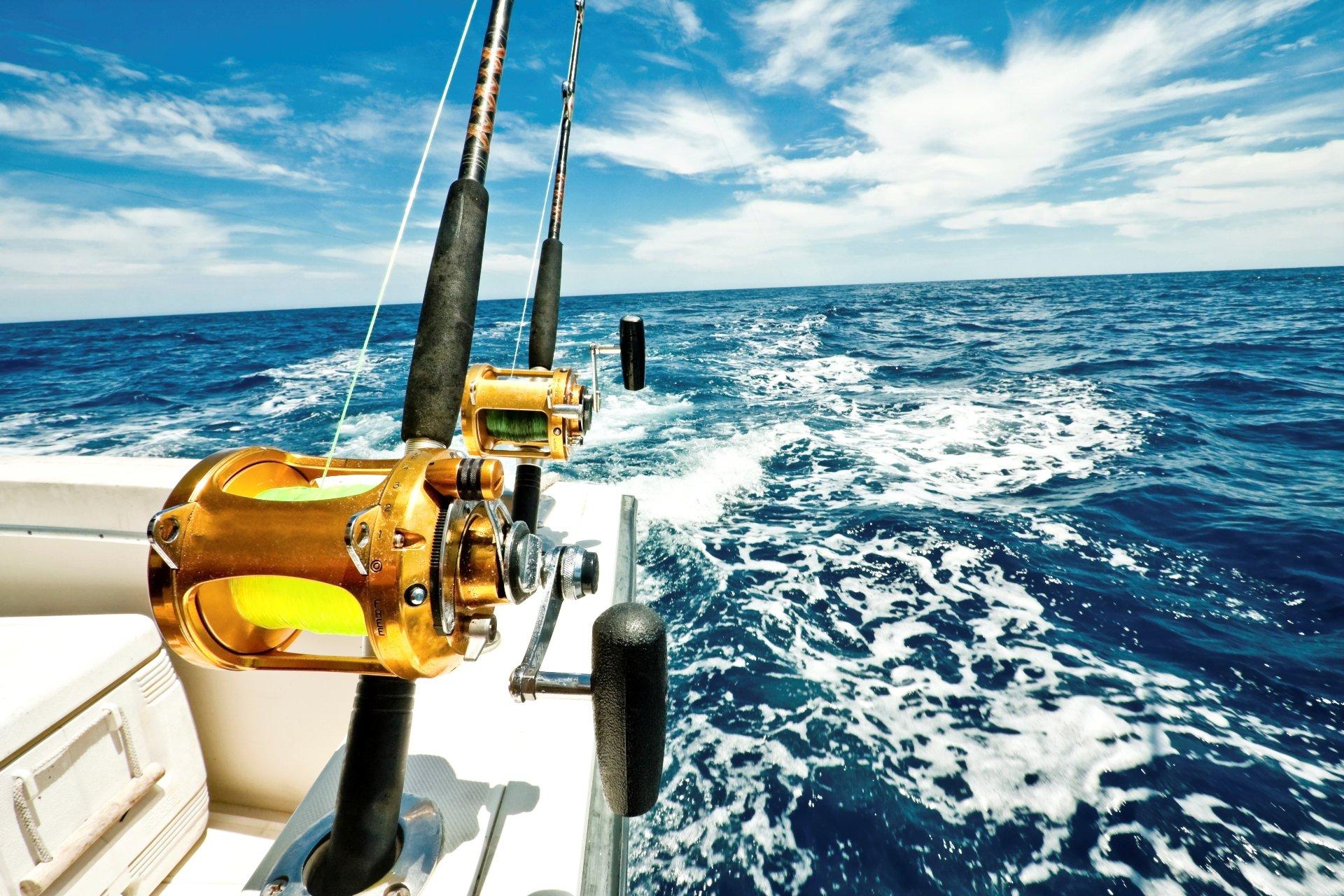 Deep Sea Fishing Stuart Florida Trolling