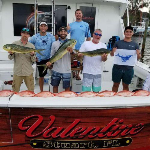 Trolling Fishing Trip Valentine Sportfishing Charters Stuart Florida